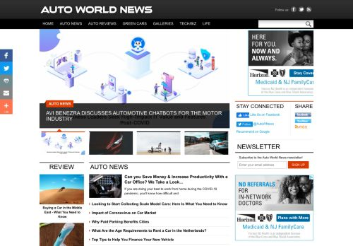 10 Car News Websites In 2020 Updated Bullmask