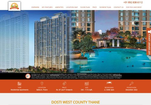 Dostiwestcountythane.co.in