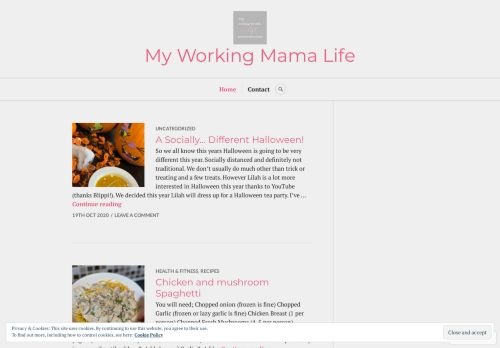 Myworkingmamalife.blog
