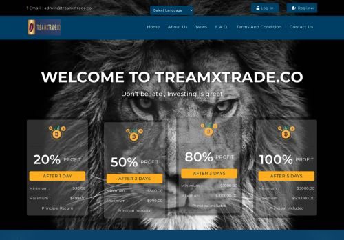 Treamxtrade.co